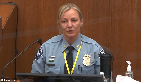 MPD Inspector Katie Blackwell also gave evidence Monday. She told jurors about the training officers recieve
