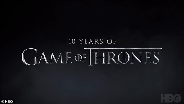 Anniversary:HBO is rolling out a massive celebration for its beloved fantasy series Game of Thrones for its 10th anniversary