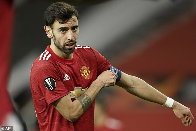 Bruno Fernandes has told his Man United team-mates that semi-final exits aren't good enough