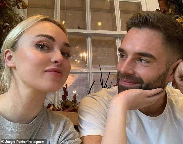 Future:At the end of last year, Jorgie spoke about finding love with her new businessman beau, saying she is 'having the best time' with him