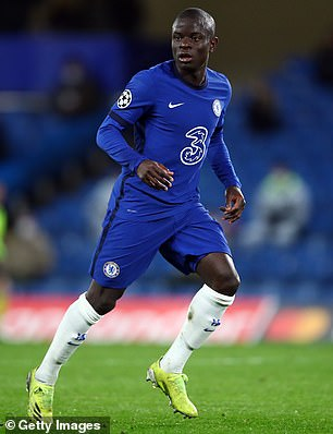 Midfielder N'Golo Kante has also been passed fit