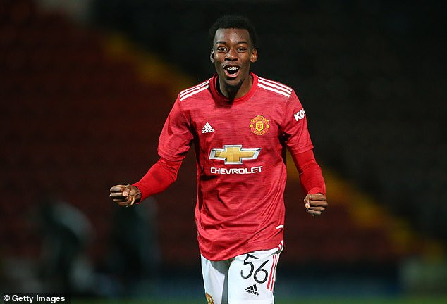 Youngster Anthony Elanga has been added to Manchester United's Europa League squad