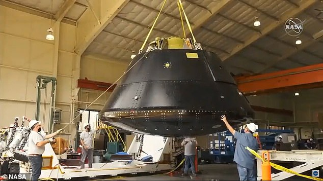 NASA said the water-impact tests are part of engineers¿ efforts to 'simulate a few landing scenarios as close to real-world conditions as possible.'