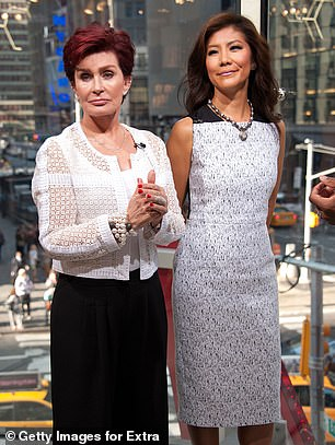 CBS extended The Talk hiatus for another week after Osbourne was accused of often calling former co-host Julie Chen a 'wonton' and 'slanted eyes'