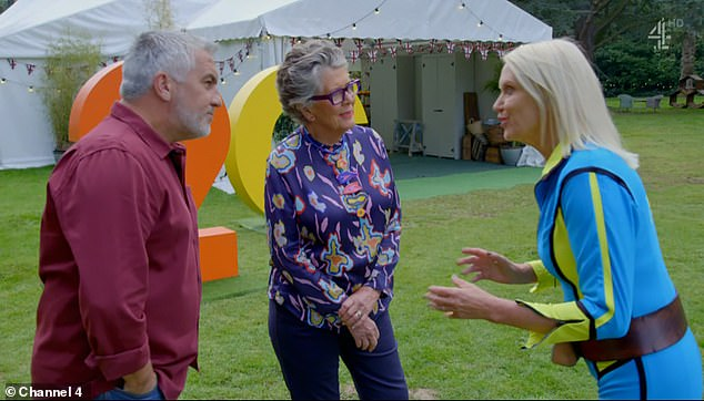 Recreation: Meanwhile, Anneka took fans back over 30 years as she kicked off the show in the same manner as her classic TV series Treasure Hunt