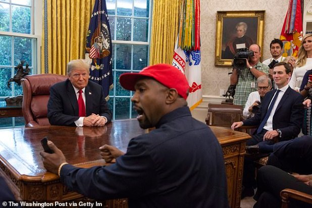 He will also detail his 2020 presidential run (pictured with Donald Trump in the Oval Office in October 2018) but it is unknown if he will also address his highly publicized mental health collapse in 2016 that left him hospitalized in Los Angeles.