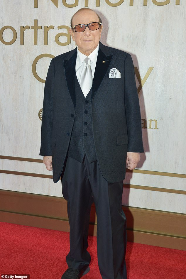 Bash master:Davis has famously hosted his annual Grammy bash at the Beverly Hilton Hotel ever the awards ceremony each year