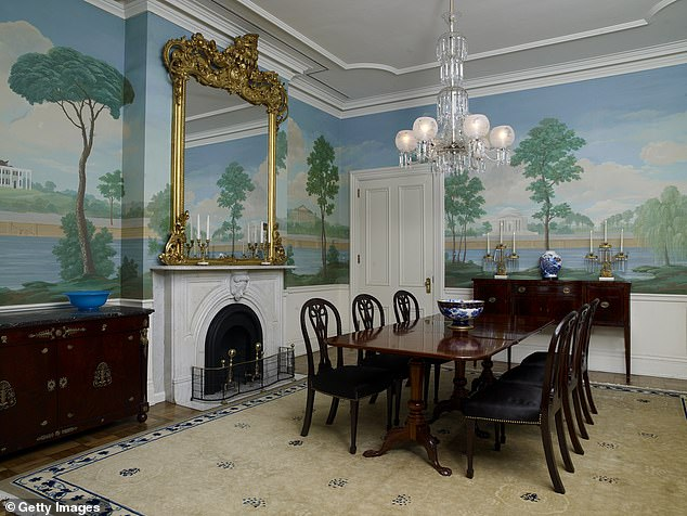 Blair House is known for its luxury and museum-quality pieces of American history