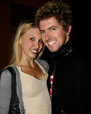BEFORE: Chloe Lattanzi and Andy Mckinnon are seen during a press outing in Australia in 2006