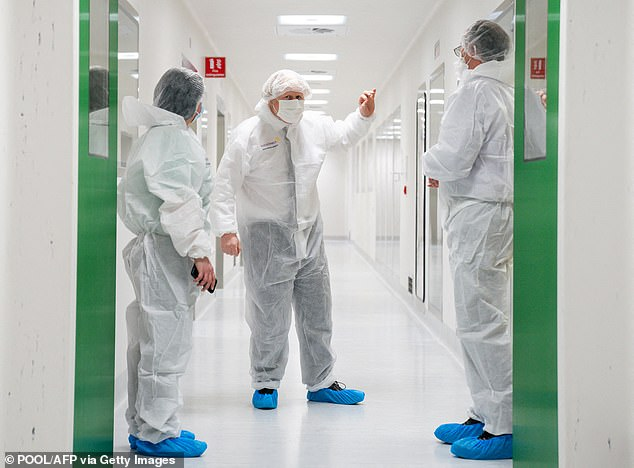 People are still being encouraged to have the AstraZeneca jab and yesterday Boris Johnson (pictured) said it was 'very very important' the public go for their inoculations