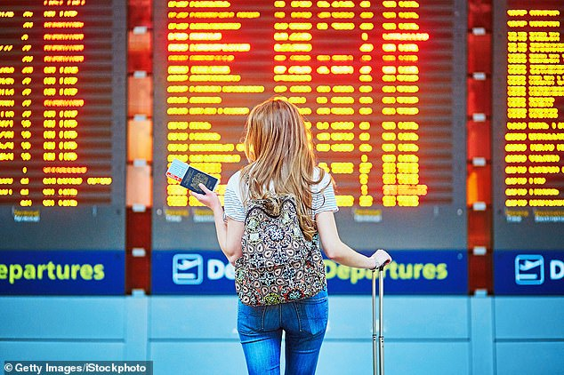 Britons are being advised to allow up to 10 weeks for passport applications to be processed after requests plummeted during 2020 (stock image)