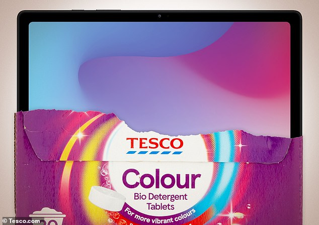 Tesco has eight Samsung Galaxy Tab 7 tablets to give away instead of Tesco Washing up Tablets