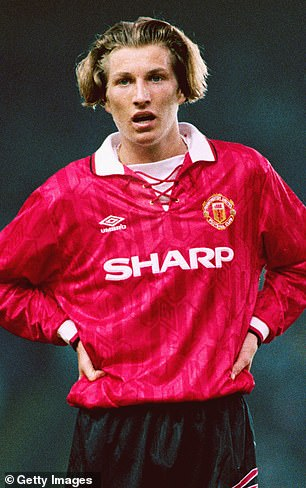He follows in Father Robbie's footsteps by starting his career at Old Trafford