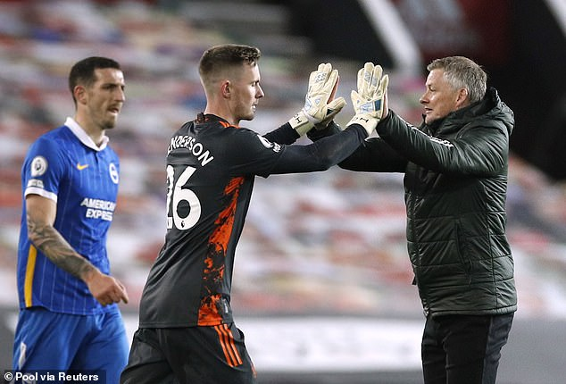 Dean Henderson is seen as the new No 1, a situation that has cast doubt over De Gea's future