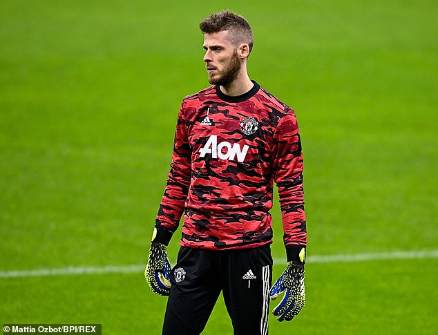 Ole Gunnar Solskjaer admits David de Gea wasn't happy about losing his starting spot