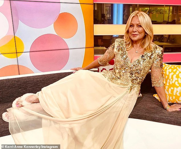 Weighing in: Kerri-Anne Kennerley (pictured), 67, addressed the parliamentary sexual misconduct scandals in Canberra in a recent interview with The Daily Telegraph's Confidential - and said that 'most men are actually fantastic' and 'want to help'