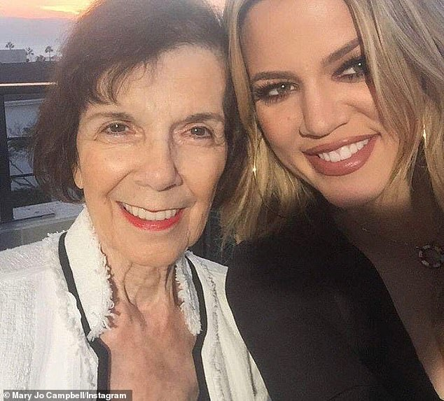 Within minutes of the photo exploding on the internet, the whole Kardashian machine swung into desperate action ¿ with a flotilla of PRs, agents, managers and lawyers ordered to get it removed. A legal representative for her grandmother, Kris Jenner's mother Mary Jo (left), issued a menacing statement saying saying the photo was captured by their client, and was 'unlawfully posted online, without authorization'