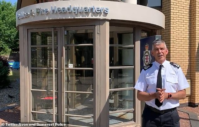 In a statement issued on Wednesday, Mr Marsh said it had been the 'honour of a lifetime' to lead the force and that it would be a 'wrench' to leave the job