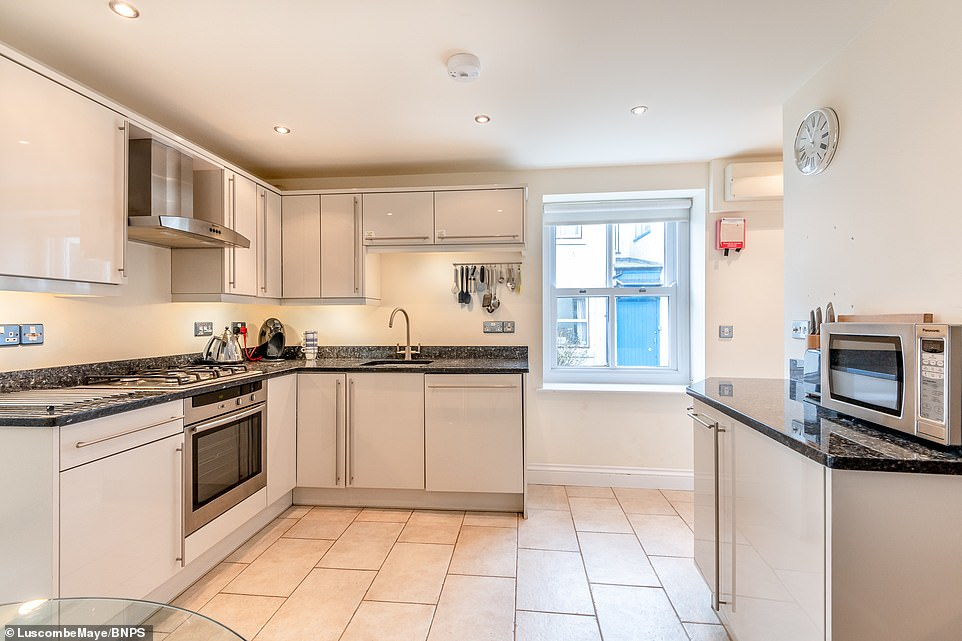 The 19th century fisherman's cottage features an open-plan kitchen/dining/reception room, as well as stunning views