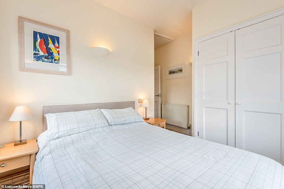 Nicki Teasdale, from estate agents Luscombe Maye, described the property as 'quintessential' and that there is nothing else on the market like it