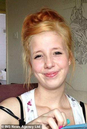 Jayden Parkinson, 17, was strangled to death by her abusive partner in 2013