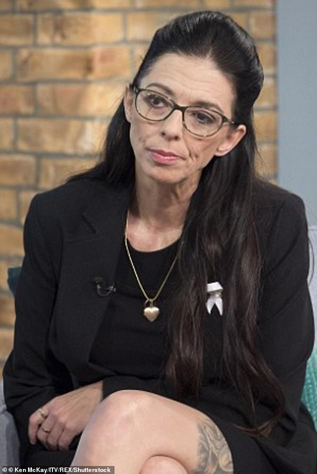 In new MTV series True Life Crime UK, Samantha, pictured in 2014, branded the killer a 'pig' and said she's living a 'life sentence of her own', unable to escape memories of her late daughter