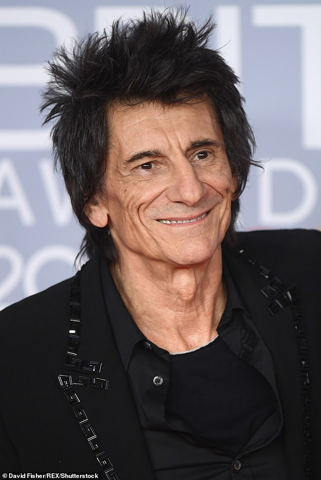 Success:Rolling Stones star Ronnie Wood has been honoured with the Freedom of the City of London in recognition of his services to music