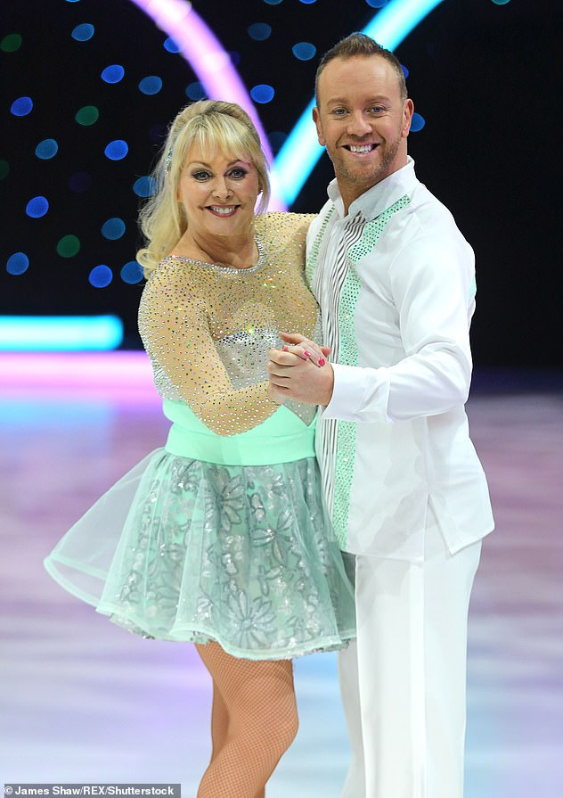 Help:In January, Cheryl told how her former Dancing On Ice partner Daniel Whiston offered to send her money after she was left 'totally broke' amid the pandemic (pictured in 2018)
