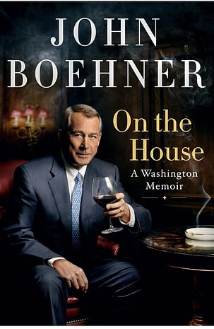 Former Speaker John Boehner's book, 'On the House: A Washington Memoir,' comes out on April 13
