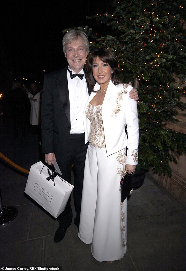 Decades later: Jane rekindled her relationship with childhood sweetheart Eddie and became engaged to him in 2008 (Pictured in 2008)