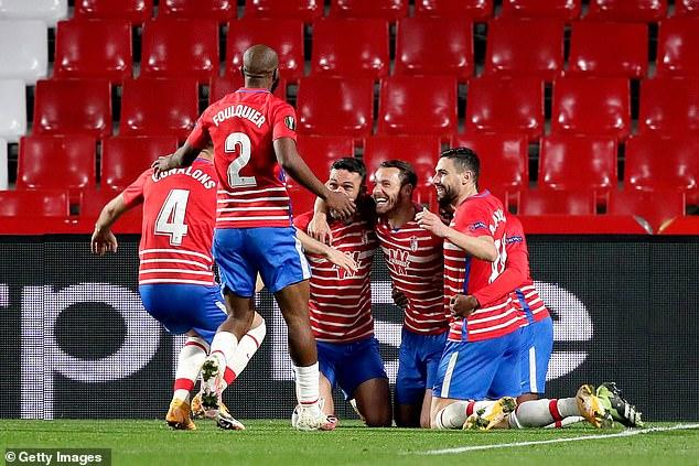 Granada welcome Manchester United in their Europa League quarter-final first leg on Thursday