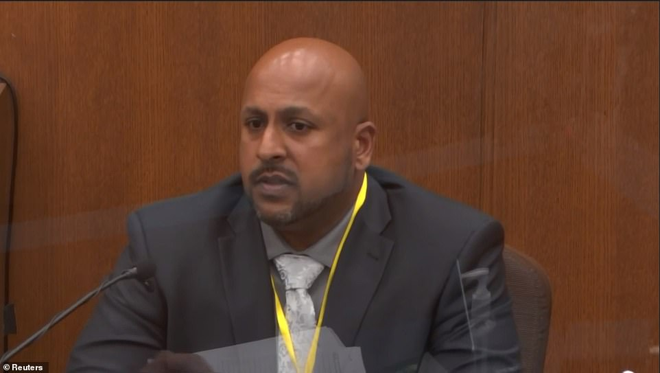 The jury on Wednesday heard from Senior Special Agent James Reyerson, pictured, the Bureau of Criminal Apprehension officer who was the lead investigator in the investigation into the incident