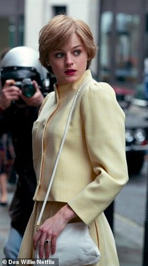 Spitting image: Emma as Diana in The Drown