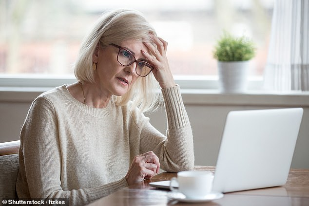 The GP said brain fog is the most common long-term symptom reported six months after contracting Covid, with some experiencing cognitive impairment month slater (stock image)