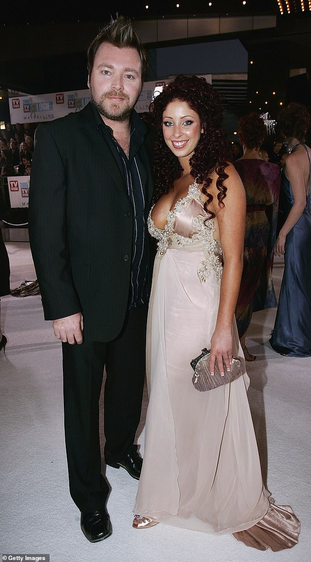 Over: Kyle was married to Scandal'us singer Tamara Jaber, 38, from 2008 to 2010. Pictured here in2005