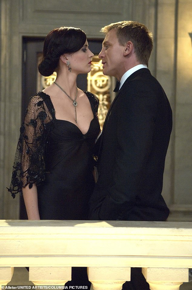 Daniel Craig and Eva Green in the 2006 James Bond film Casino Royale