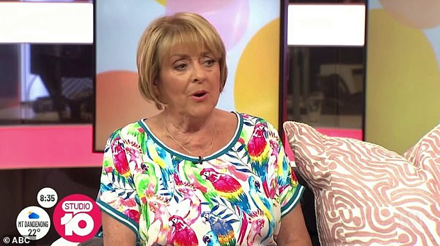 'Arabs... the Ubdidubiss': The first clip in The Weekly's compilation showed Studio 10's Denise Drysdale (pictured) bizarrely ranting about 'Arabs'