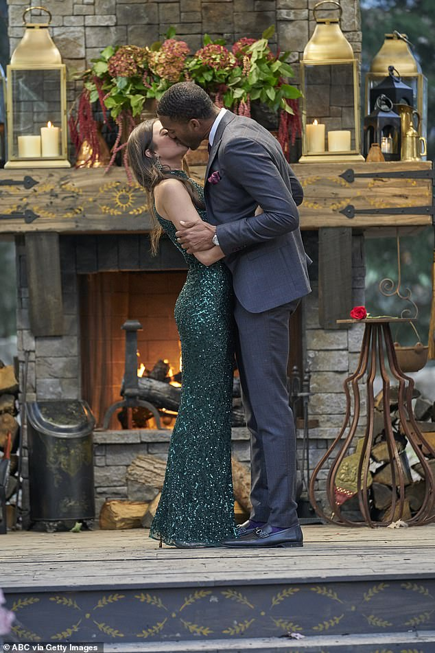 Not meant to be: Ultimately, Matt and Rachael's relationship did not survive controversy, and the former bachelor admitted he ended the relationship after the photos were published.