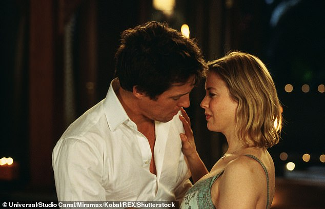 Reversal: In the sequel, 2004's Bridget Jones: Edge Of Reason, she started a relationship with Mark, only to be pushed back into the arms of Daniel