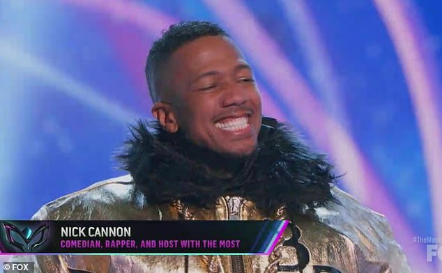 Wildcard surprise: Nick Cannon after testing positive for COVID-19 made a surprise return to The Masked Singer on Wednesday after competing as a Bulldog on the hit show Fox