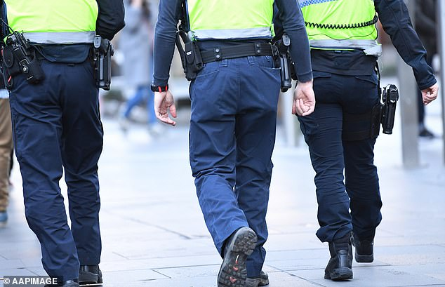 Tristan Zerafa, 34, has been charged with unlawful assault, discharging pepper spray without justification and abusive language at Sunbury, in Melbourne's northwest, in December 2019 (stock image)