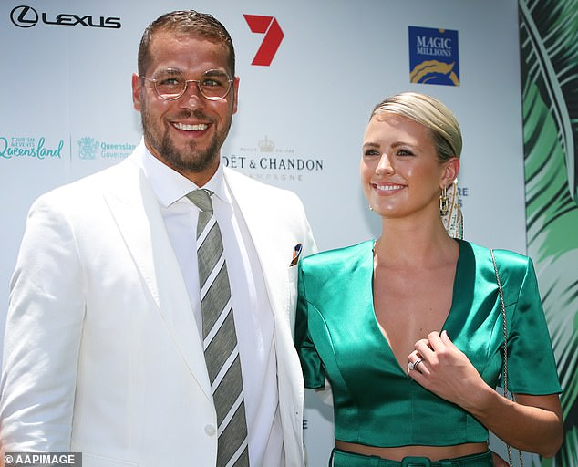 Meet baby Rocky!AFL glamour couple Jesinta and Buddy Franklin announced the birth of their second child last month, and now they have finally revealed their little boy's name