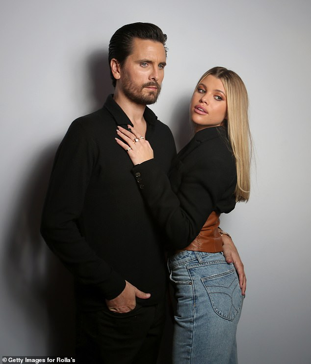 Former flame: Sofia has been enjoying dating again after getting out of a heavily publicized relationship with Keeping Up With The Kardashians vet Scott Disick, 37, last summer; Scott and Sofia pictured in 2020