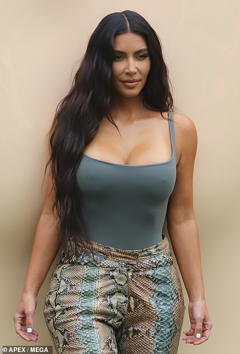 Surprise! Kim Kardashian caused quite a frenzy on Wednesday afternoon as she made a surprise visit to her SKIMS pop-up shop at the Grove shopping center in Los Angeles