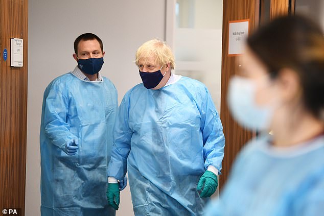 Boris Johnson previously defended his decision to visit Scotland in January (pictured) during lockdown. The Prime Minister said he travelled 'in my capacity as Prime Minister of the whole country'