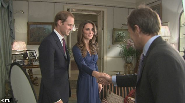 The Duke of Cambridge was once so close with Tom Bradby that he was chosen to conduct the November 2010 engagement exclusive interview with him and Kate Middleton