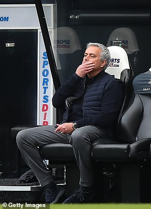 Jose Mourinho is under huge pressure to keep hold of his job at Tottenham after a disastrous season