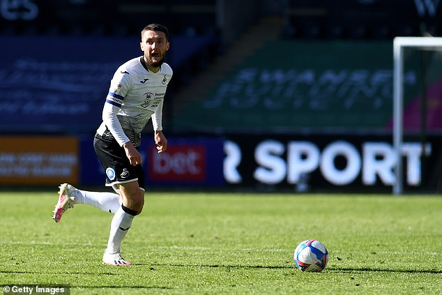 Swansea captain Matt Grimes said the stance was needed to bring change to online platforms
