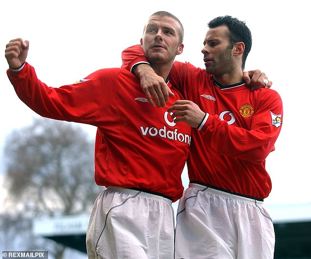 David Beckham (left) and Ryan Giggs (right) also make an appearance in the documentary