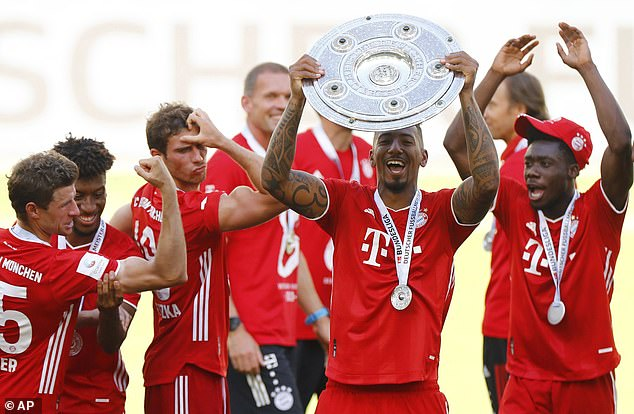 The 32-year-old leaves Bayern having won countless trophies with the all-conquering Germans